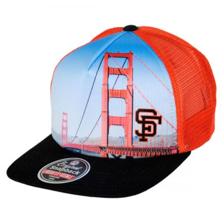 American Needle San Francisco Giants MLB Above It All Snapback Baseball Cap
