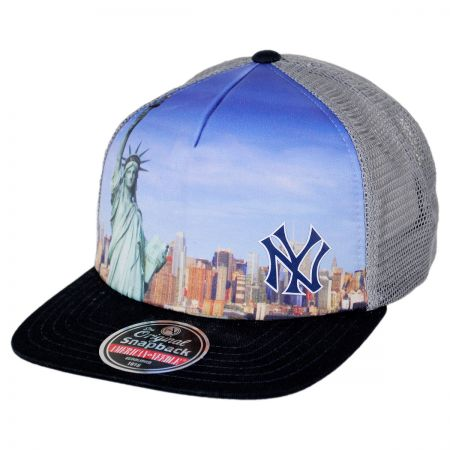 American Needle New York Yankees MLB Above It All Snapback Baseball Cap