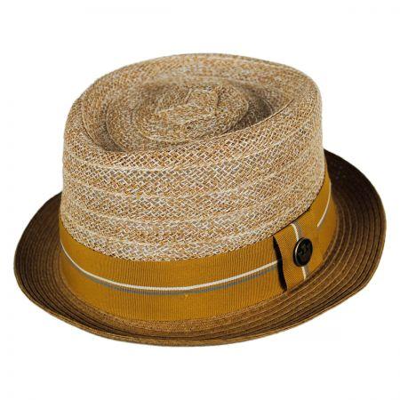 Goorin Bros Julito Callazo Toyo Pork Pie Hat