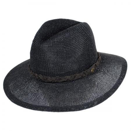 Goorin Bros Short Ranger Wide Brim Toyo Fedora Hat