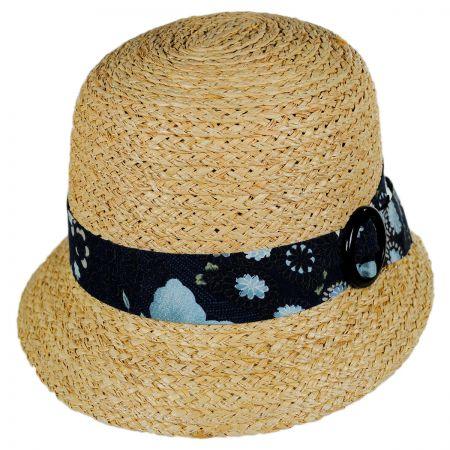 Goorin Bros Mermaid Dream Straw Cloche Hat
