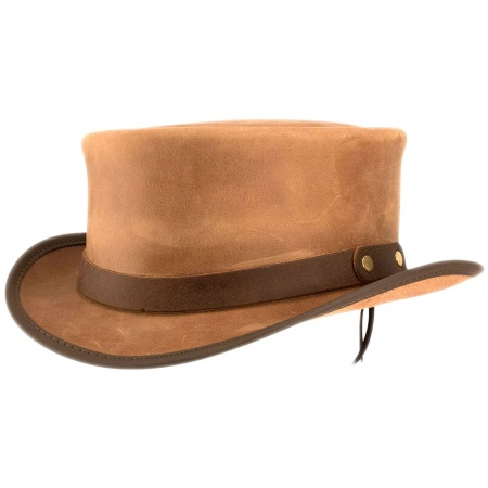 Head 'N Home - Marlow Leather Top Hat