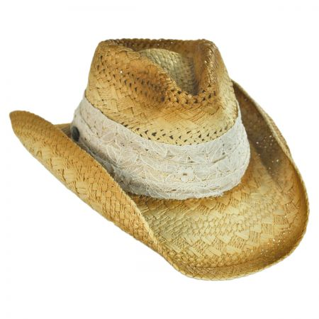 Cappelli Straworld Lace Band Western Hat