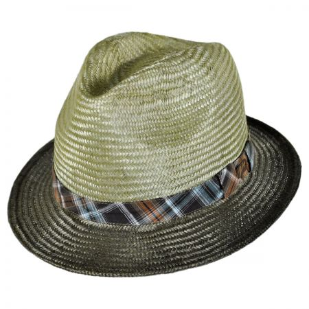 Bailey Tennessee Ramie Straw Fedora Hat