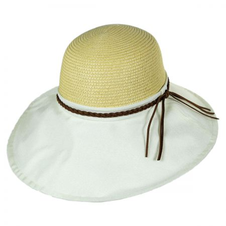 Callanan Hats Linen and Toyo Straw Swinger Hat