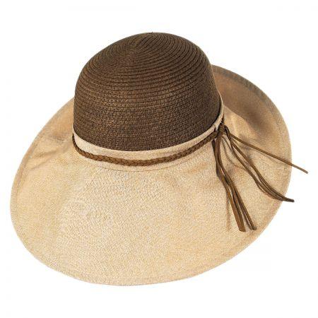 Callanan Hats Linen and Toyo Straw Swinger Hat