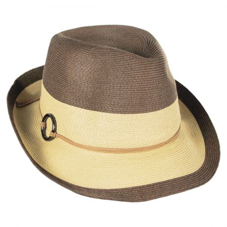 Callanan Hats Color Block Fedora Hat