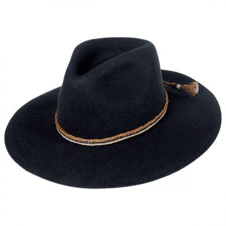 Brixton Hats Leonard Wool Felt Wide Brim Fedora Hat