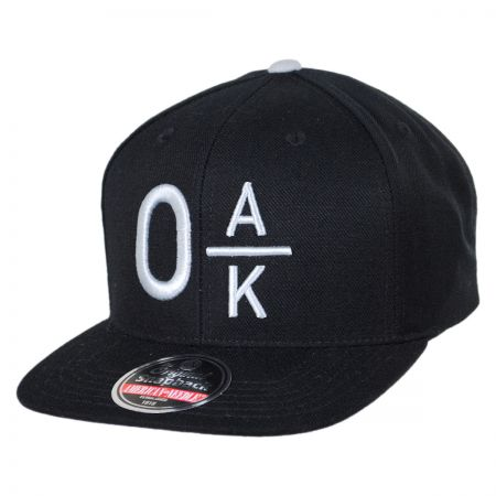 American Needle Oakland Raiders NFL Divided Snapback Baseball Cap