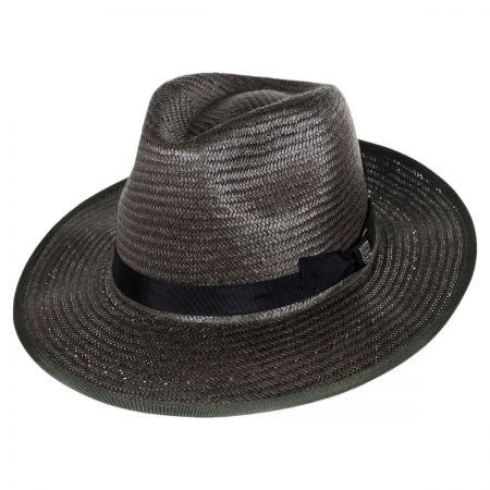 Brixton Hats Maddock Toyo Straw Fedora Hat