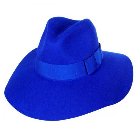 Piper Wool Felt Floppy Fedora Hat