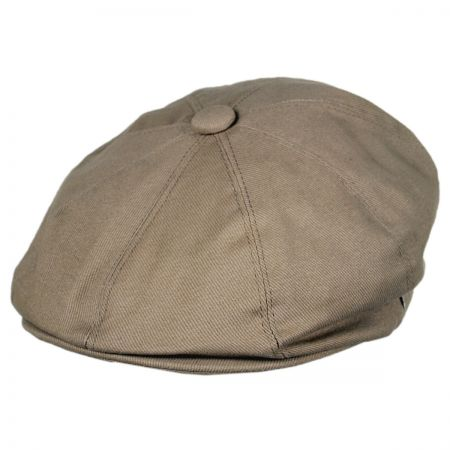 Jaxon Hats Cotton Newsboy Cap - Mocha