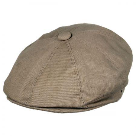 Jaxon Hats Cotton Newsboy Cap - Mocha
