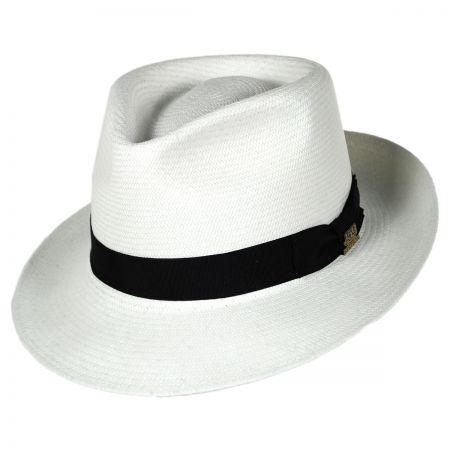 Stetson Benchmark 150th Anniversary Grade 20 Panama Straw Fedora Hat
