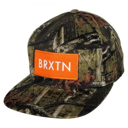 Brixton Hats Rift Snapback Baseball Cap