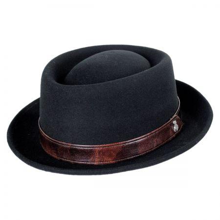 Carlos Santana Solstice Wool Pork Pie Hat