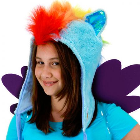 Hasbro My Little Pony Rainbow Dash Hoodie Hat