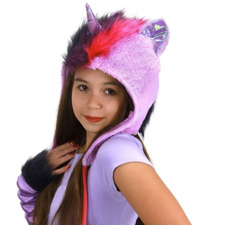 My Little Pony Twilight Sparkle Hoodie Hat alternate view 1