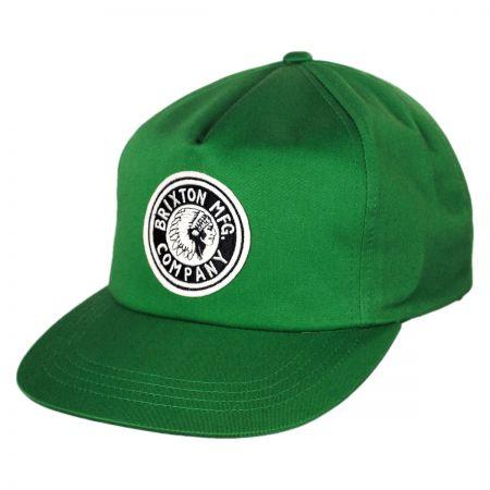 Brixton Hats Rival High-Profile Snapback Baseball Cap