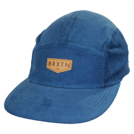 Brixton Hats Haft Five Panel Baseball Cap