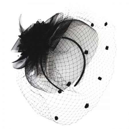 Dahlia Fascinator Headband alternate view 1
