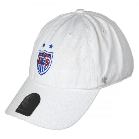 47 Brand US Soccer Womens Clean Up Baseball Cap