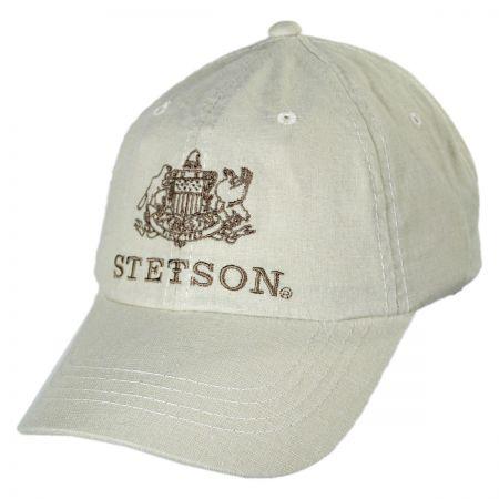 Stetson Iconic Logo Strapback Baseball Cap