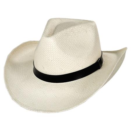 B2B sur la tete Zee Toyo Straw Western Hat
