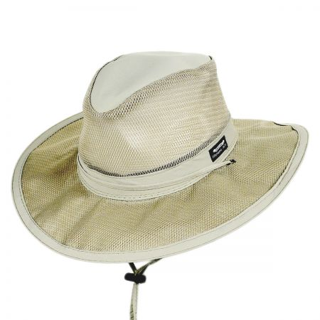 Panama Jack Vent Crown Supplex Aussie Hat