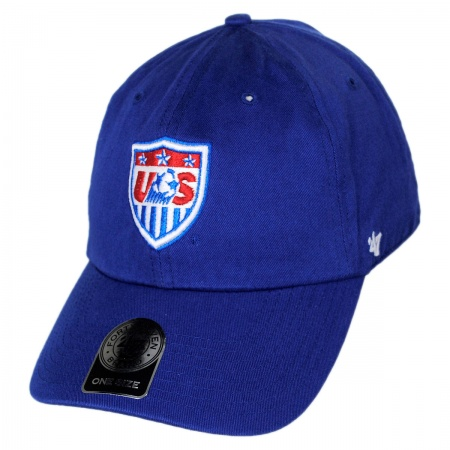 47 Brand US Men's Soccer Clean Up Strapback Baseball Cap