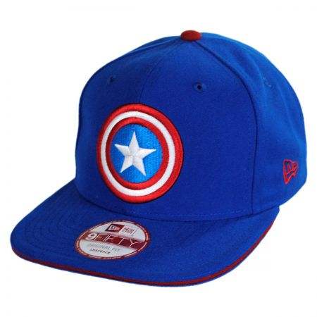 New Era Marvel Comics Captain America 9Fifty Hero Sandwich Snapback Baseball Cap
