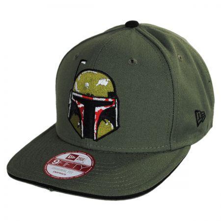 New Era Star Wars Boba Fett 9Fifty Hero Sandwich Snapback Baseball Cap