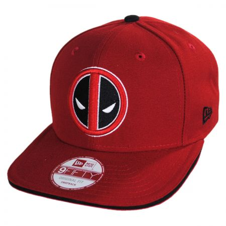 New Era Marvel Comics Deadpool 9Fifty Hero Sandwich Snapback Baseball Cap