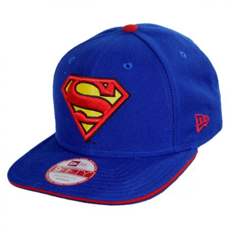 New Era DC Comics Superman 9Fifty Hero Sandwich Snapback Baseball Cap