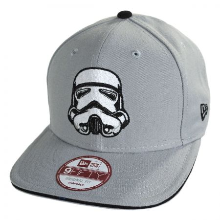 New Era Star Wars Stormtrooper 9Fifty Hero Sandwich Snapback Baseball Cap