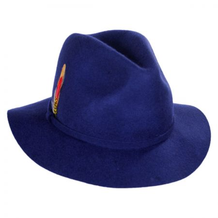 Wool Felt Safari Fedora Hat alternate view 5
