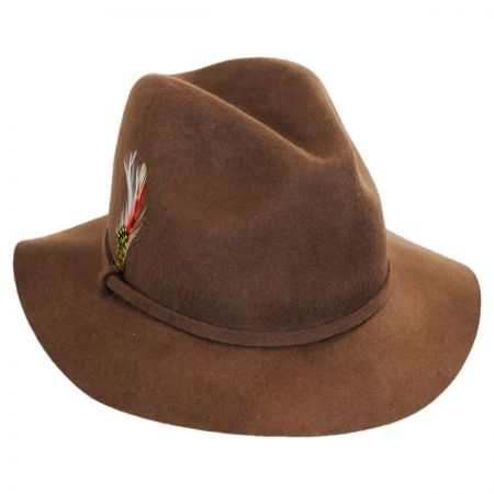 Wool Felt Safari Fedora Hat alternate view 9