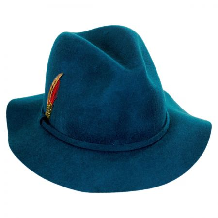 Wool Felt Safari Fedora Hat alternate view 13