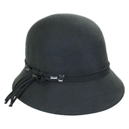 Callanan Hats Crystal Stone Cloche Hat