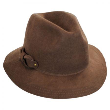 Callanan Hats Safari Loop Bow Fedora Hat