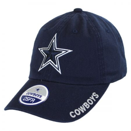 Dallas Cowboys NFL Slouch Strapback Baseball Cap Dad Hat alternate view 5