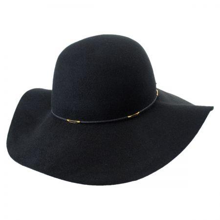 Wax Cord Wool Felt Floppy Hat alternate view 5