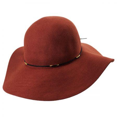 Wax Cord Wool Felt Floppy Hat alternate view 9