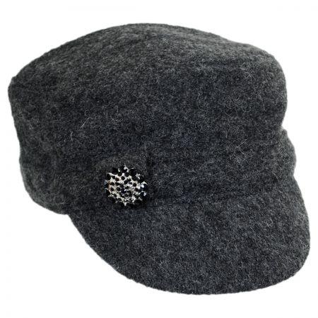 Scala Brooch Cadet Cap