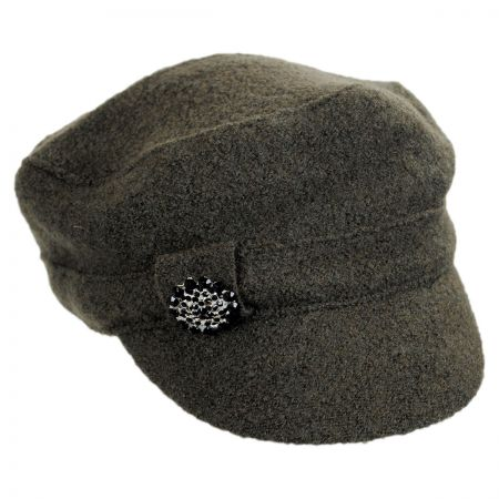 Scala Brooch Cadet Cap