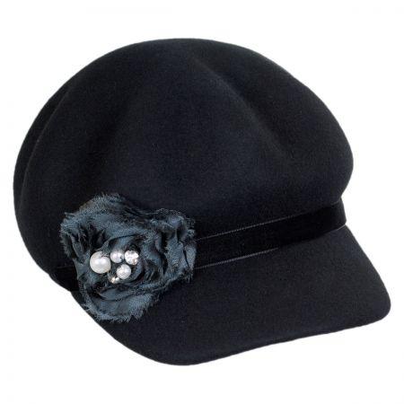 Callanan Hats Rosette Jockey Cap
