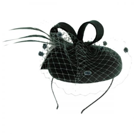 Scala Bow and Net Fascinator Headband