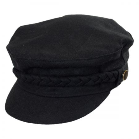 Scala Braided Band Fiddler Cap