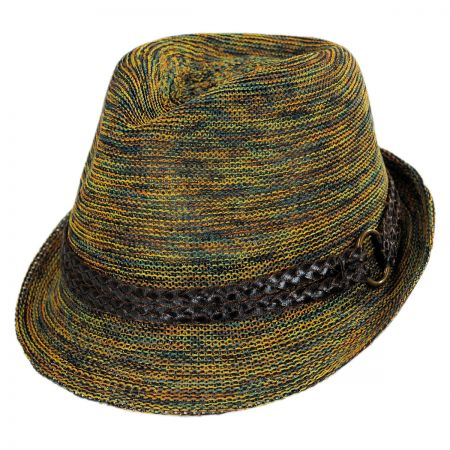Scala Prismatic Fedora Hat