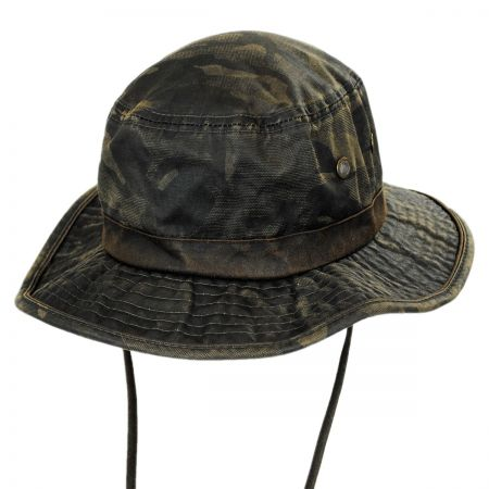 Dorfman Pacific Rustic Camouflage Booney Hat